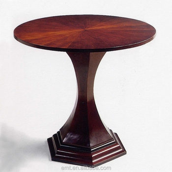 Classic Designer Mdf Wooden Round Tea Table Coffee Table