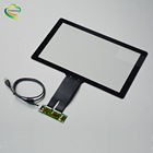 Customized 16:9 EXC80H83/EXC3189/ILI2511/ILI2510 15.6 Inch Industrial PCAP Capacitive Touch Screen Panel