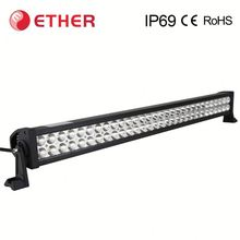 Newest style SAE DOT offroad 240w car led light bar for wheel loaders