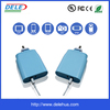 Selling wholesale 5V 4.8A Plastic cement Us fast wall charger with LED display