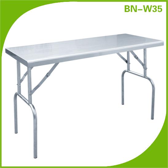 grossiste table inox pliante acheter les meilleurs table inox pliante lots de la chine table. Black Bedroom Furniture Sets. Home Design Ideas