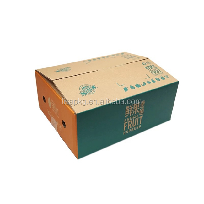 China custom printed Shipping box packaging standard export carton