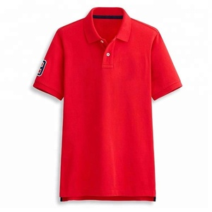 China Factory Wholesale Blank No Label Man Polo Shirt Embroidered Custom