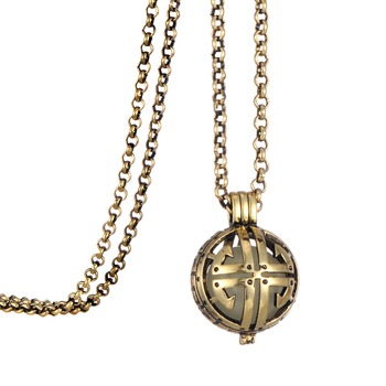 Antique brass cross pendant aromatherapy essential oil diffuser antique brass cross pendant aromatherapy essential oil diffuser locket necklace aloadofball Gallery