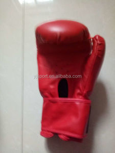 Leather blue Boxing gloves