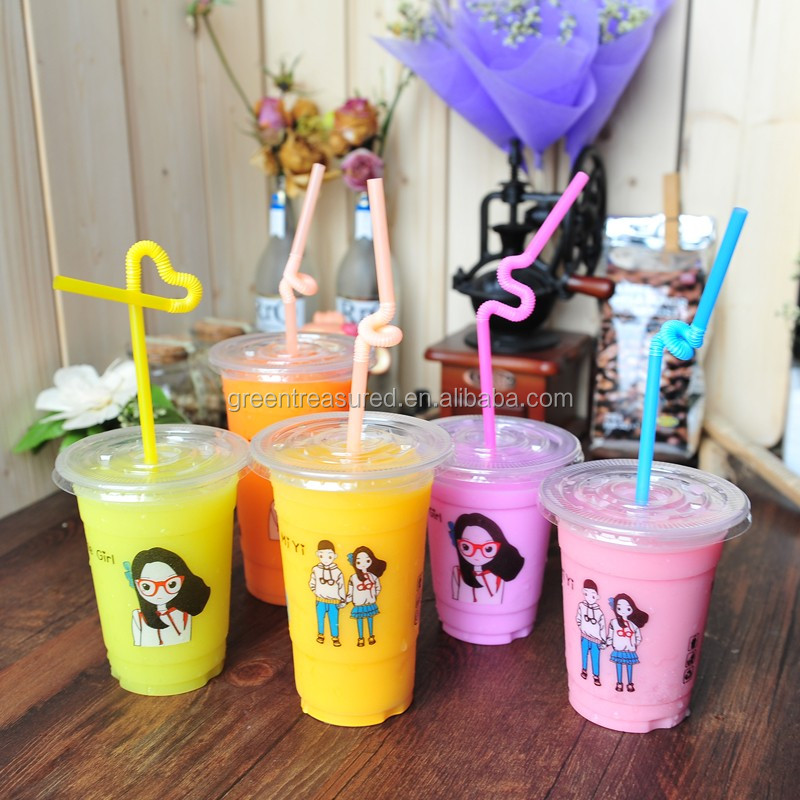 Bulk Tea Frozen Drink Plastic Cup Made In China Unbreakable Pp Tea