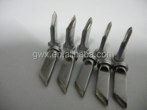 Knife shape head straight head LTKN 2.0mm solder tip for Weller LT KN WSP80 WP80 soldering iron