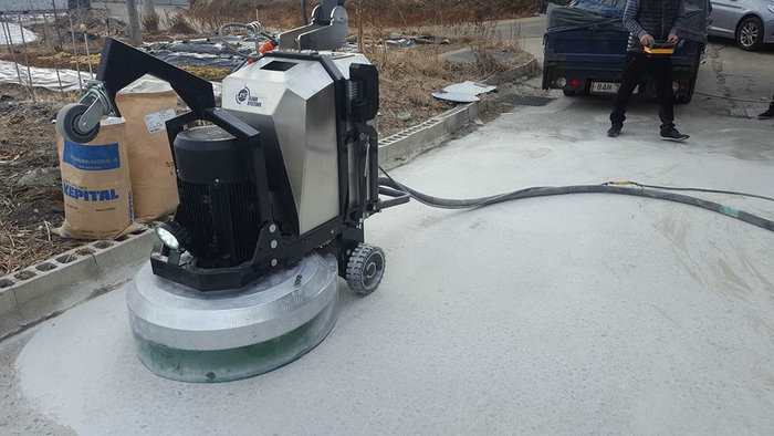 Garage and Basement Epoxy Removal Planetary Concrete Grinding Equipment,  View floor machine, JS-800 Product Details from Shanghai Jiansong Industry