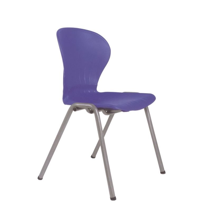 Navy Blue Plastic Stackable Office Chair Buy Wholesale