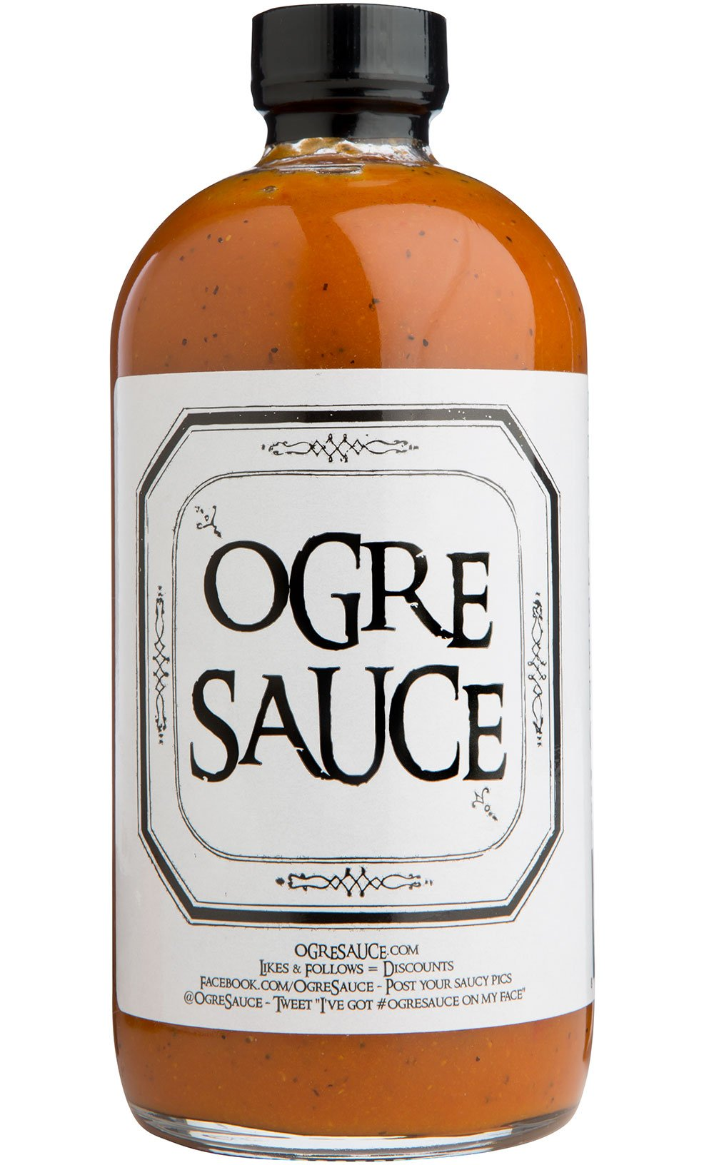 BBQ sauce - Ogre Sauce - All-Purpose Craft Barbecue Sauce - Award Winning BBQ Sauce - Grilling Sauce - Smoking Sauce - BBQ Sauce Gift Sets - Rib Sauce - Best BBQ Sauce - Carolina BBQ Sauce