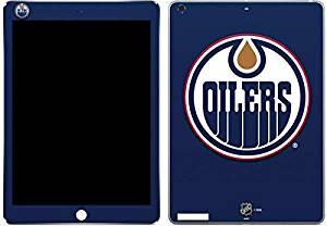 NHL Edmonton Oilers iPad Air Skin - Edmonton Oilers Solid Background Vinyl Decal Skin For Your iPad Air