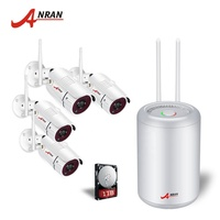 ANRAN 2MP 1080P CCTV camera wireless outdoor HD 4ch wireless security camera system
