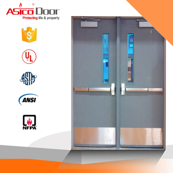 China fire door supplier provided ul listed fire exit door with china fire door supplier provided ul listed fire exit door with glass planetlyrics Gallery