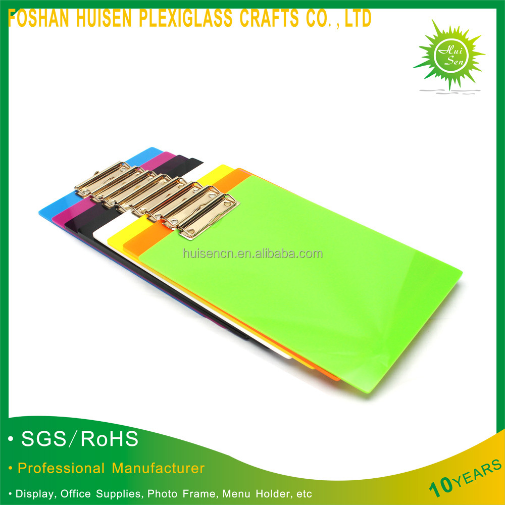 Flexible Plastic Clipboard China Supplier