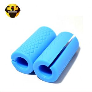 RAMBO Oem Wholesale Fitness Accessory For Dumbbell Thick Bar Grips And Barbell Oem Silicone Hand Grip