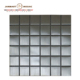 China factory galaxy silver metal mirror wall decor mosaic tiles