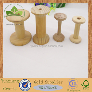 The various size wooden thread &packing spool