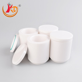 Yttrium oxide zirconium ball mill jars, yttria stabilized zirconia grinding pot