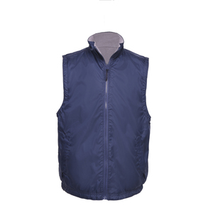 Cheap wholesale garments Mens fleece Vest factory working uniform