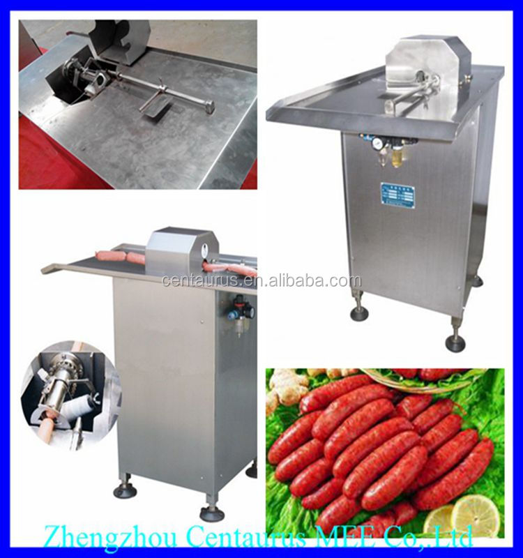 Comercial use sausage clipping machine/sausage knotting machine with different capacity