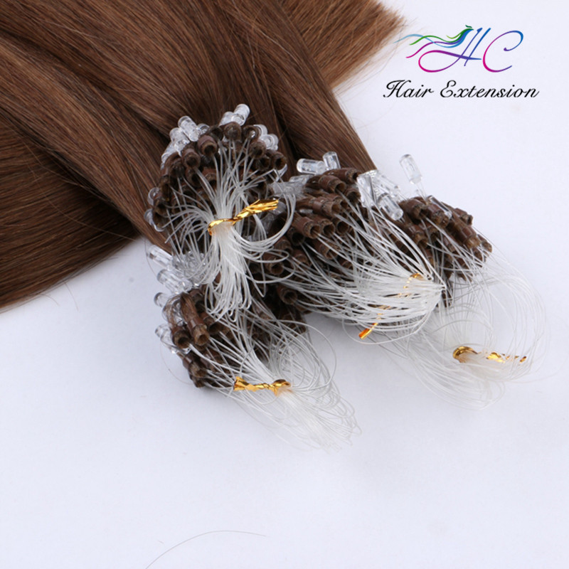 Indian 100% Human Hot Selling Unprocessed Wholesale Cheap Ombre Brazilian 30 Inch Micro Ring Loop Hair Extensions