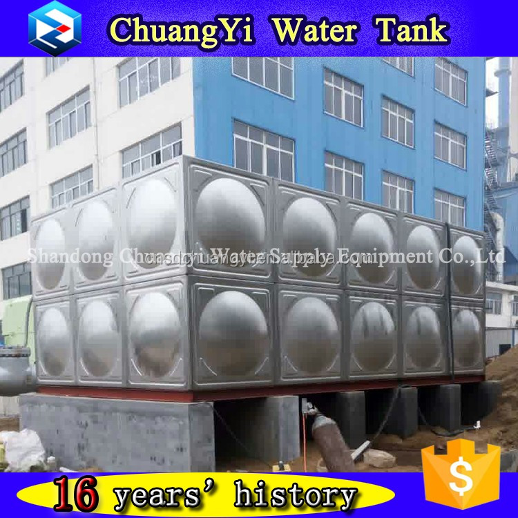 Drinking/Farming/Irrigation/Industry Water use assembled Stainless Steel Water Tank