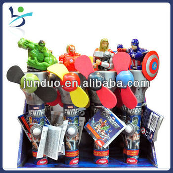 Toys Exporter,The Avengers Toy Fan,12*10g Candy Fan Toy