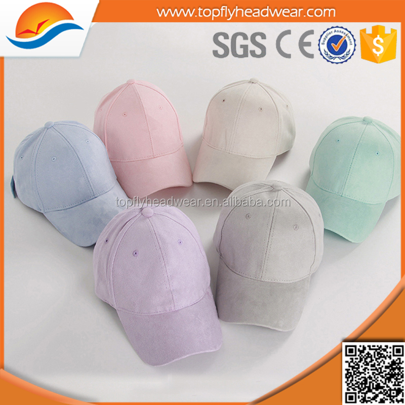 candy color suede baseball cap wholesale UK