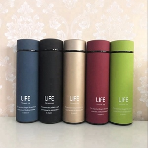 Wholesale 17OZ Thermos Leakproof Rubber Coated Flask Insulated Food Flask