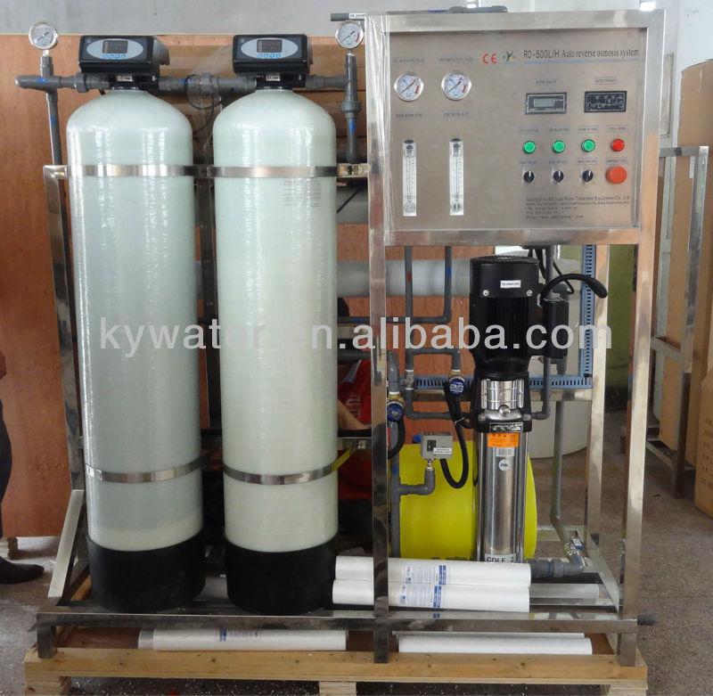 Factory Price CE Approved KYRO-500LPH reverse osmosis water machine/a small water treatment plant
