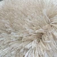 Tianjin Carpet Factory Beige Plain Color 150d And Elastic Yarn ...