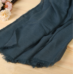 Design exported fashion silk shawl Indian cotton linen scarf