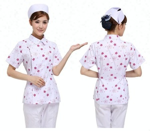 New style short sleeve hospital uniforms nurse uniform with medical