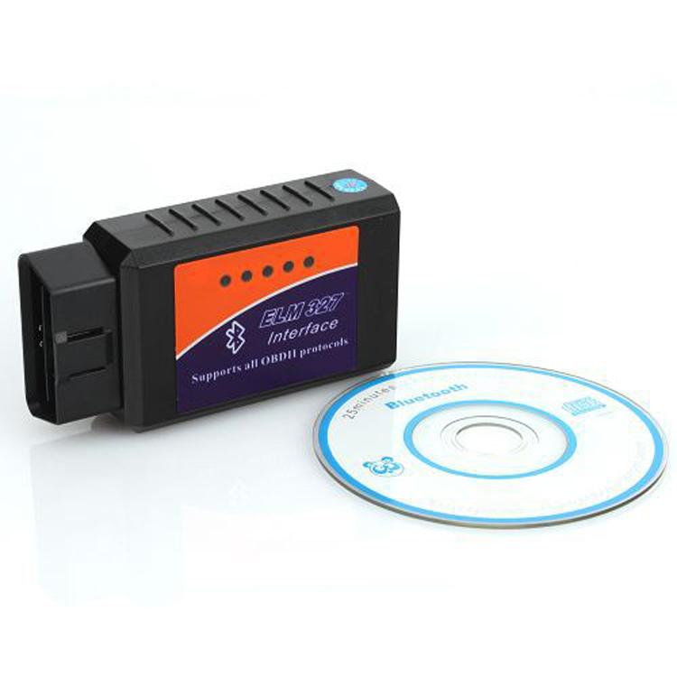 Elm327 Bluetooth OBDII ODB2 диагностический интерфейс сканер Elm 327 Bluetooth инструменты автомобиль сканирования детектор сканеров для нескольких брендов