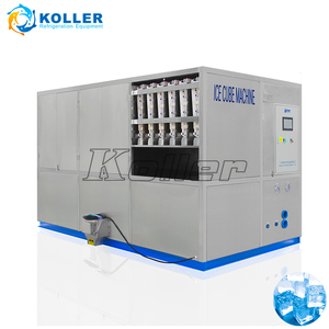 Koller perfect ice plant design to make ice cubes for bars/coffee store CV5000
