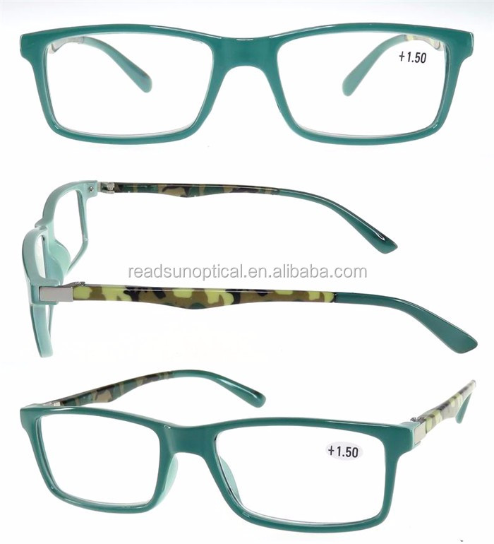 Hot Sell designer PC frame anti blue ray mens reading glasses 1.50 pictures