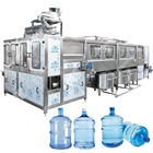 Full Automatic 5 Gallon / 20 L Barrel Water Filling Production Line / Filling machine