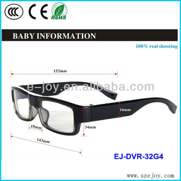 Sunglasses Cycling/ Safety Glasses Eyewear 2013 hd 720p sunglasses camera EJ-DVR-34G4