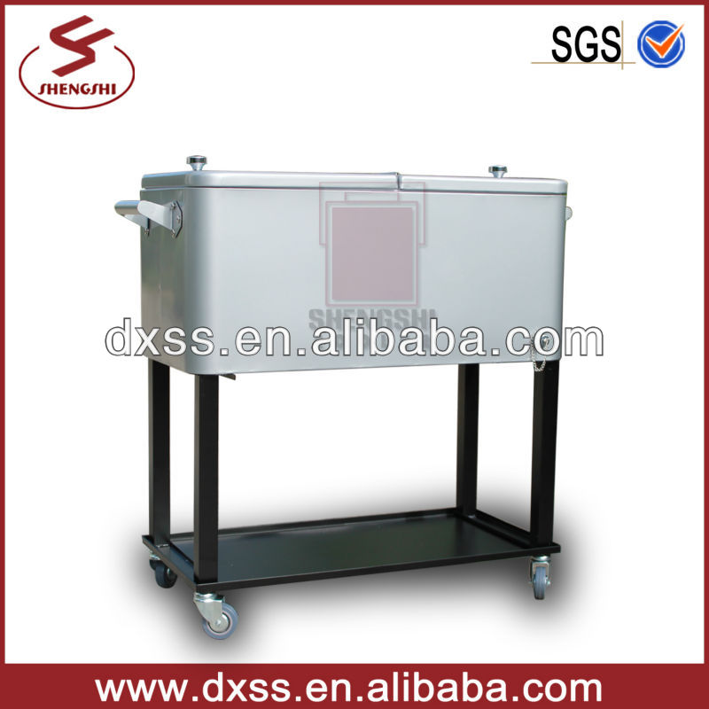 Stainless Steel Patio Cooler Box With Wheels Product On Alibaba