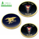 Wholesale cheap personalized metal brass stamping 3d eagle military army souvenir navy seal challenge coin custom logo
