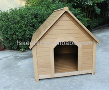 PS wooden waterproof pet house/dog kennel