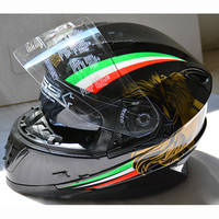 NEW DOT/ECE Standard Full Face Motorcycle Helmets with Wireless Call