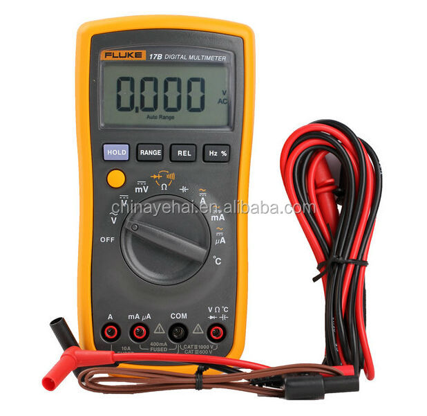 FLUKE17B Digital Multimeter With Frequency And temperature Function