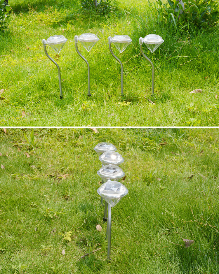 Stainless solar lawn light for garden decorative 100 - Decorative garden lights solar powered ...