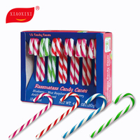 OEM sweet lollipop candy cane for Christmas