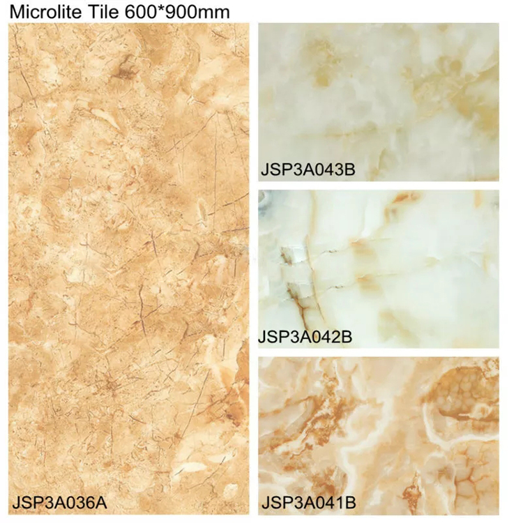 high gloss ceramic vitrified tile golden beige 3D micro crystal porcelain ceramic floor tiles prices