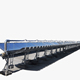 Vicot Construction material industry solar parabolic trough collector