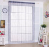 Grey decoration window string curtain with bead