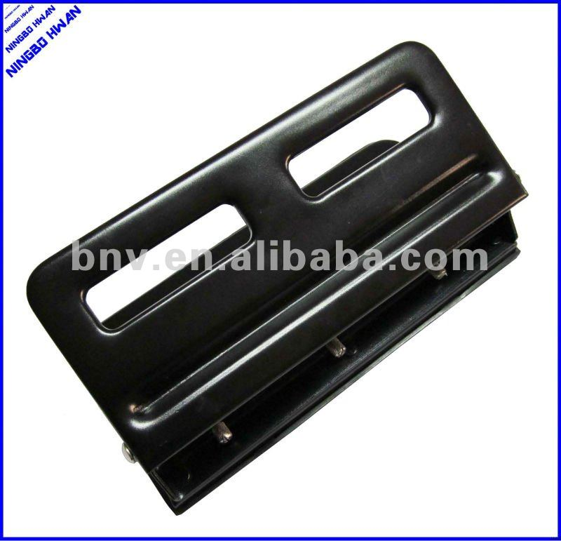 Quality office metal adjustable heavy duty adjustable 3 hole punch