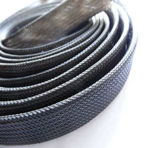 Cable expandable PER mesh wrap braided sleeving